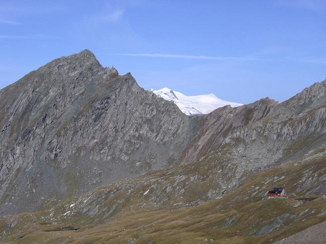 Foto: Andreas Koller / Wandertour / Ins Herz der Granatspitzgruppe (3232 m) / Nussingkogel (2991 m) und Großvenediger (3674 m) / 09.05.2007 00:31:16