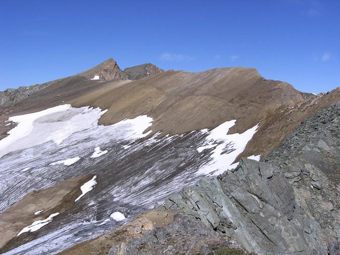 Foto: Andreas Koller / Wandertour / Ins Herz der Granatspitzgruppe (3232 m) / Wellachköpfe - Muntanitz Grat / 09.05.2007 00:38:17