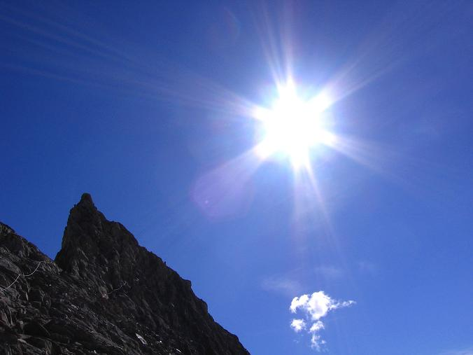 Foto: Andreas Koller / Wandertour / Ins Herz der Granatspitzgruppe (3232 m) / Versicherter Abstieg vom Kleinen Muntanitz / 09.05.2007 00:39:06