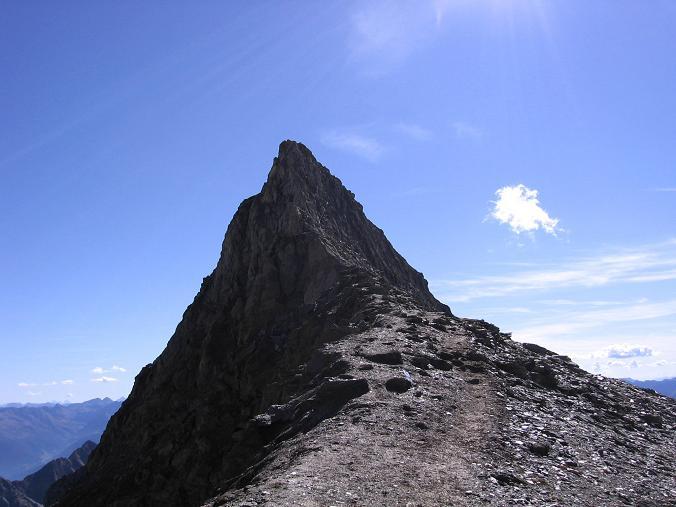 Foto: Andreas Koller / Wandertour / Ins Herz der Granatspitzgruppe (3232 m) / Der Kleine Muntanitz vom Kampel / 09.05.2007 00:39:29