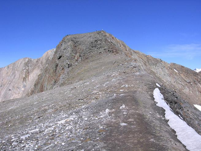 Foto: Andreas Koller / Wandertour / Ins Herz der Granatspitzgruppe (3232 m) / Großer Muntanitz vom Kampel / 09.05.2007 00:39:48