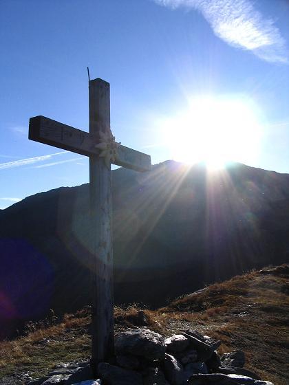 Foto: Andreas Koller / Wander Tour / Vom Loassattel auf den Gilfert (2506 m) / Am Sonntagsköpfel mit Gilfert im Hintergrund / 05.05.2007 18:38:57