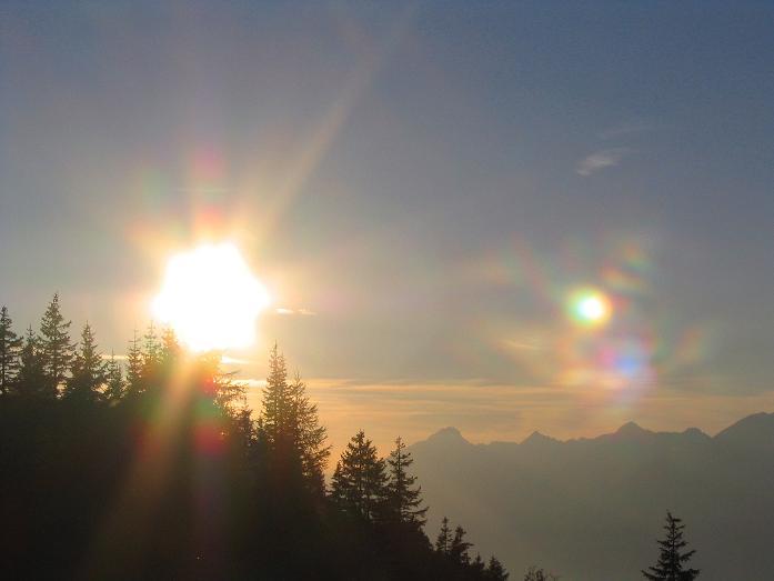 Foto: Andreas Koller / Wander Tour / Vom Loassattel auf den Gilfert (2506 m) / Abendstimmung am Loassattel / 05.05.2007 18:39:13