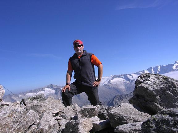 Foto: Andreas Koller / Wander Tour / Auf die Zillerplattenspitze (3148 m) / Österreichischer Gipfelsieg / 07.05.2007 22:12:58