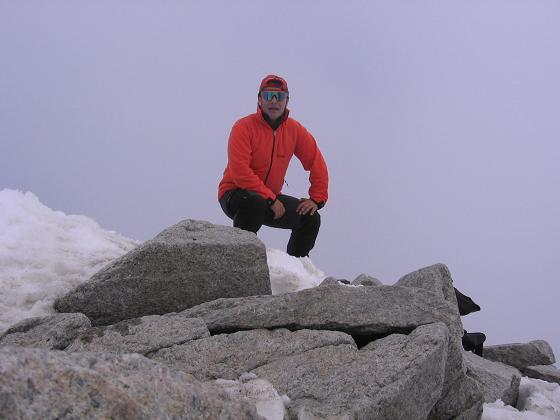 Foto: Andreas Koller / Wander Tour / Vom Neves-Stausee auf den Großen Möseler (3480 m) / Am Möseler / 06.05.2007 22:42:27
