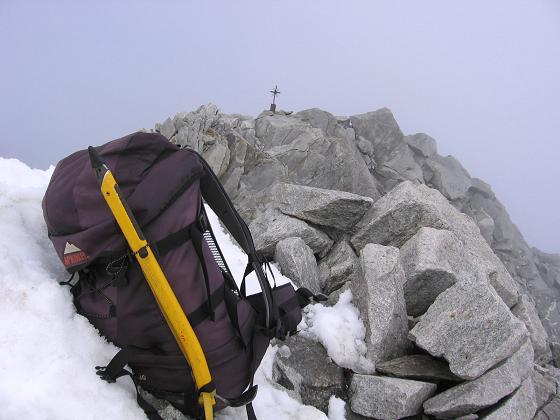 Foto: Andreas Koller / Wander Tour / Vom Neves-Stausee auf den Großen Möseler (3480 m) / Am Möseler-Gipfel / 06.05.2007 22:42:14