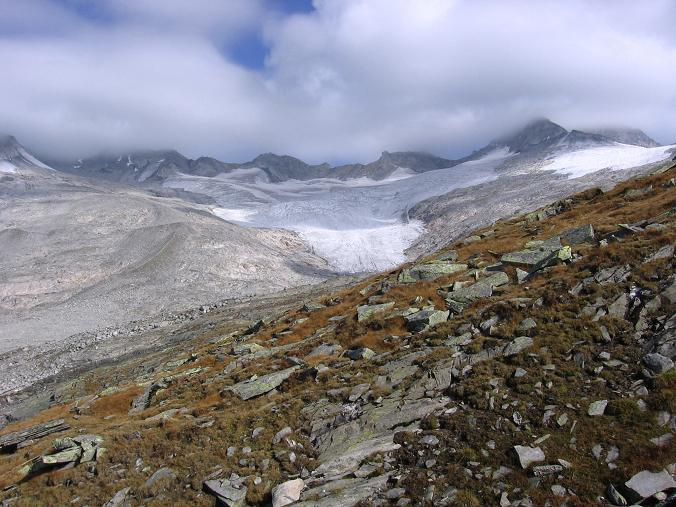 Foto: Andreas Koller / Wander Tour / Vom Neves-Stausee auf den Großen Möseler (3480 m) / Nevesferner / 06.05.2007 22:46:32
