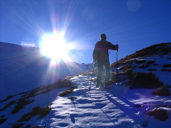 Foto: Andreas Koller / Wander Tour / Aus dem Weißpriachtal auf Gurpitscheck und Gollitschspitze (2526 m) / Direkter Abstieg von der Gollitschspitze / 06.05.2007 15:41:36