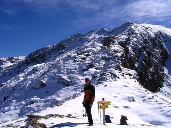 Foto: Andreas Koller / Wander Tour / Aus dem Weißpriachtal auf Gurpitscheck und Gollitschspitze (2526 m) / Am N-Grat / 06.05.2007 15:38:15