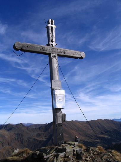 Foto: Andreas Koller / Wander Tour / Aus dem Eselsberggraben auf Schoberspitze und Talkenschrein (2423 m) / Am Talkenschrein / 05.05.2007 10:58:26
