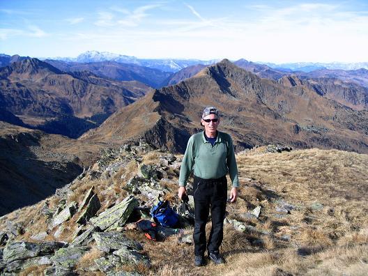 Foto: Andreas Koller / Wandertour / Aus dem Eselsberggraben auf Schoberspitze und Talkenschrein (2423 m) / Blick nach N / 05.05.2007 10:58:41