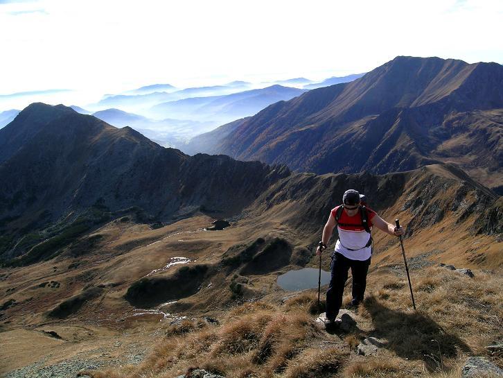Foto: Andreas Koller / Wandertour / Aus dem Eselsberggraben auf Schoberspitze und Talkenschrein (2423 m) / Mühevoll zum Gipfel / 05.05.2007 10:56:38