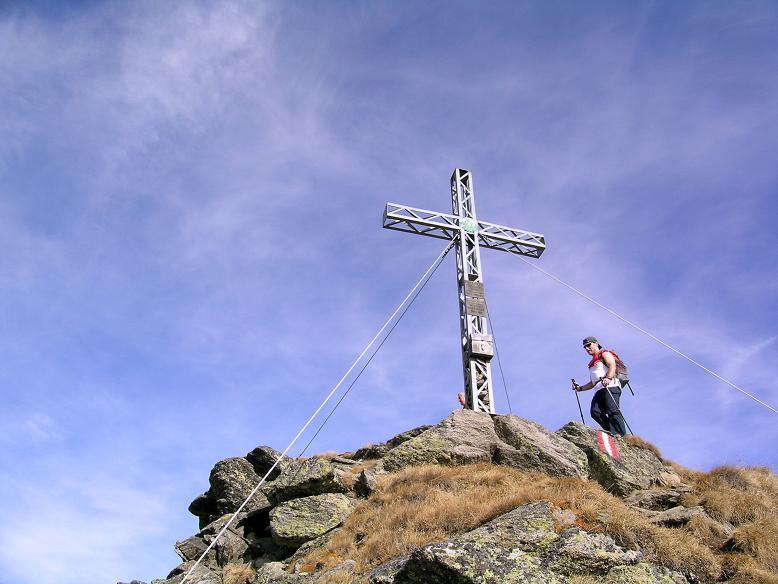 Foto: Andreas Koller / Wandertour / Aus dem Eselsberggraben auf Schoberspitze und Talkenschrein (2423 m) / Auf der Schoberspitze / 05.05.2007 10:57:00