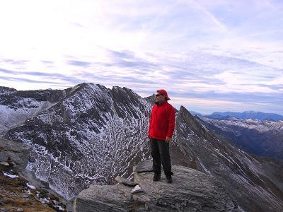 Foto: Andreas Koller / Wander Tour / Lanisch Seen und Oblitzen (2658 m) / Ausblick in den Lungau / 09.01.2007 01:44:29