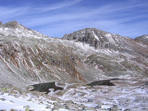 Foto: Andreas Koller / Wander Tour / Lanisch Seen und Oblitzen (2658 m) / Die Lanischseen / 09.01.2007 01:43:05