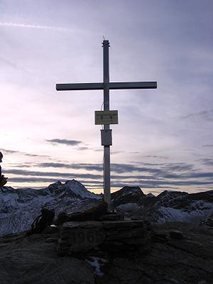 Foto: Andreas Koller / Wander Tour / Lanisch Seen und Oblitzen (2658 m) / Am Gipfel der Oblitzen / 09.01.2007 01:43:49