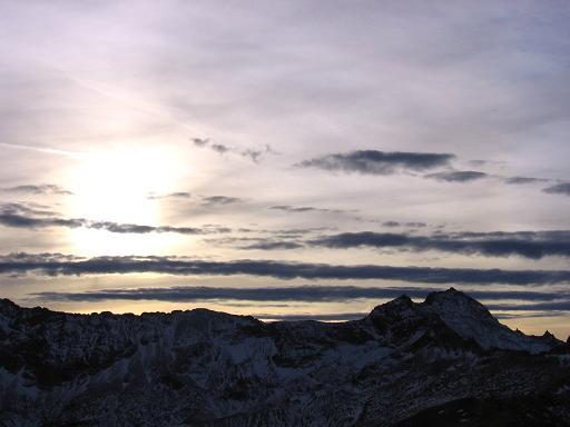 Foto: Andreas Koller / Wander Tour / Lanisch Seen und Oblitzen (2658 m) / Blick gegen den Großen Hafner / 09.01.2007 01:44:09
