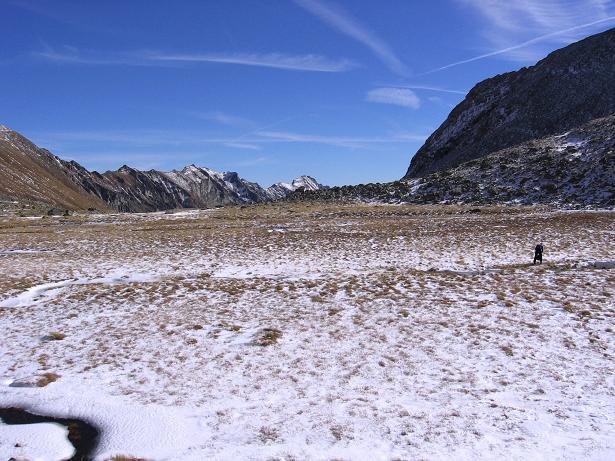 Foto: Andreas Koller / Wander Tour / Lanisch Seen und Oblitzen (2658 m) / Die Hochebene bei den Lanisch Seen / 27.04.2007 22:57:27