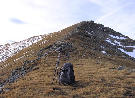 Foto: Andreas Koller / Wander Tour / Lanisch Seen und Oblitzen (2658 m) / Der harmlose Gipfelgrat / 27.04.2007 22:57:47