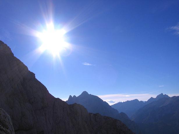 Foto: Andreas Koller / Wandertour / Spik - Überschreitung (2473 m) / Der Prisojnik (2547 m)  / 26.04.2007 22:42:57
