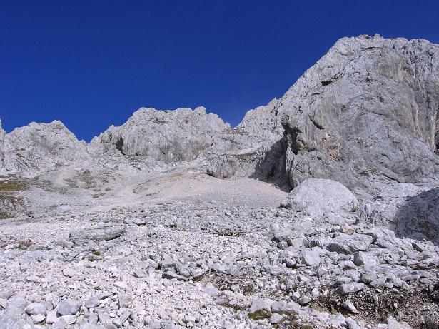 Foto: Andreas Koller / Wander Tour / Spik - Überschreitung (2473 m) / Im Kacijgraben / 26.04.2007 22:43:10