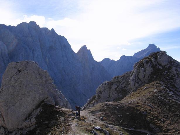 Foto: Andreas Koller / Wandertour / Spik - Überschreitung (2473 m) / Die Skrlatica (2740 m) / 26.04.2007 22:39:35