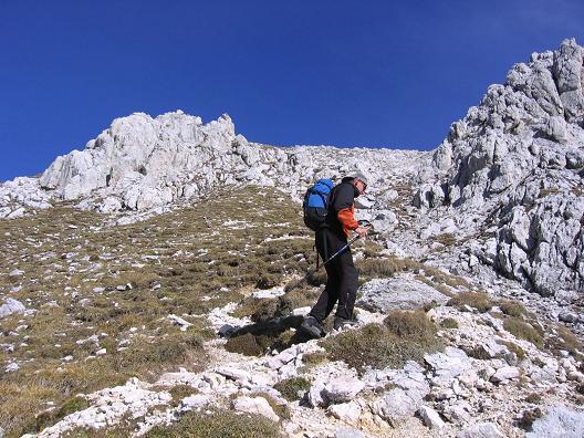 Foto: Andreas Koller / Wandertour / Spik - Überschreitung (2473 m) / Die letzten