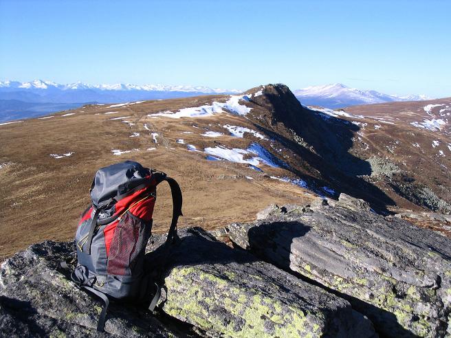 Foto: Andreas Koller / Wander Tour / Vom Klippitztörl über die Große Saualpe (2079 m) / Vom Kaiserofen Blick zum Gertrusk / 26.04.2007 21:46:09