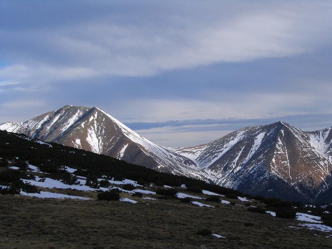 Foto: Andreas Koller / Wander Tour / Großer Ringkogel und Pletzen (2345 m) / Blick auf Hochreichhart (2416 m) / 26.04.2007 02:46:12