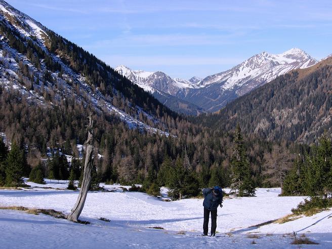 Foto: Andreas Koller / Wander Tour / Drei Gipfel über dem steirischen Bärntal (2386 m) / Das steirische Bärntal / 06.05.2007 14:53:43