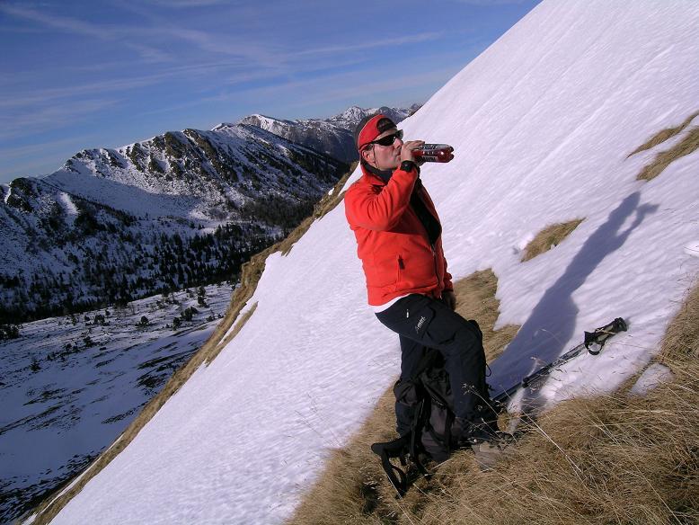 Foto: Andreas Koller / Wander Tour / Drei Gipfel über dem steirischen Bärntal (2386 m) / Steile S-Hänge im direkten Aufstieg zu den Gamskögel / 06.05.2007 14:54:30