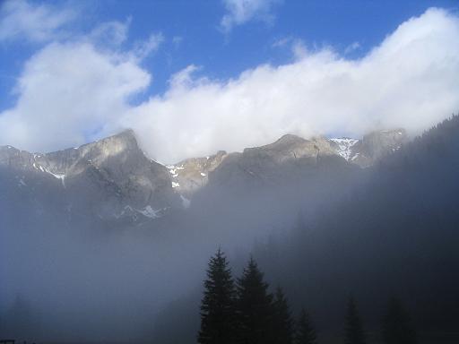 Foto: Andreas Koller / Wander Tour / Übers G´hackte auf den G´hacktkogel (2214 m) / Vom Bodenbauer Richtung G´hacktenkogel / 09.01.2007 01:52:13