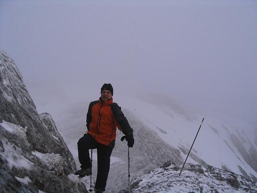 Foto: Andreas Koller / Wander Tour / Übers G´hackte auf den G´hacktkogel (2214 m) / Bein Fleischer-Biwak / 09.01.2007 01:51:48