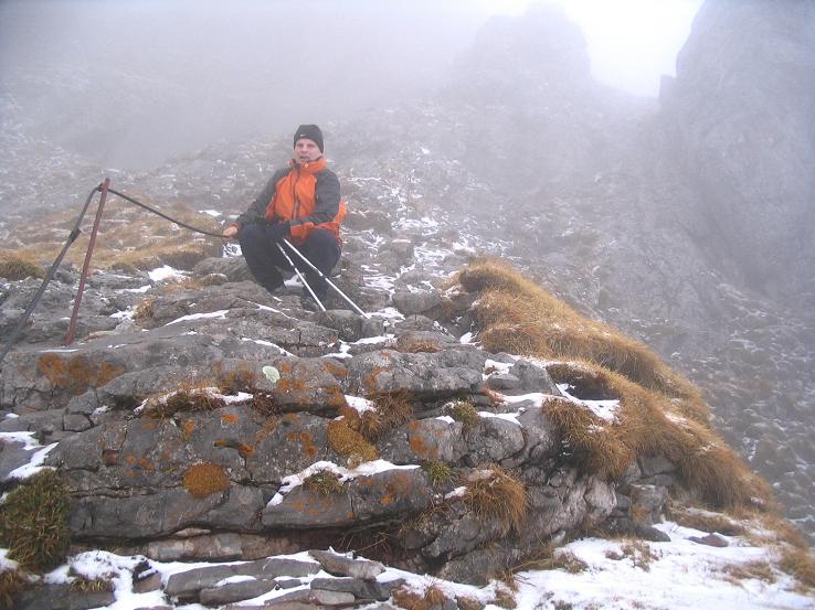 Foto: Andreas Koller / Wander Tour / Übers G´hackte auf den G´hacktkogel (2214 m) / Mitten im G´hackten / 22.04.2007 22:50:56
