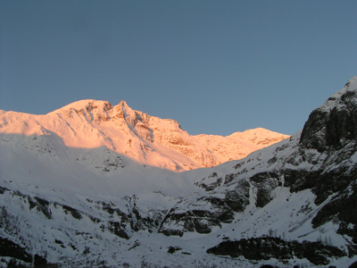 Foto: mote / Ski Tour / Hocharn, 3254m - von Kolm Saigurn / Der erste Blick / 04.04.2007 21:52:49