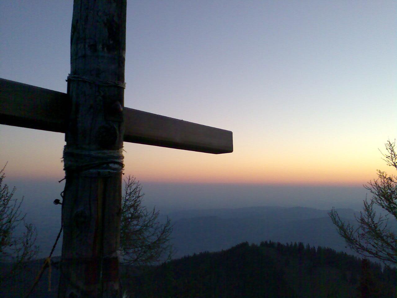 Foto: FTO / Skitour / Pfannstein,  1423m / Pfannstein, kurz vor Sonnenaufgang / 18.05.2007 18:53:04