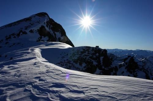 Foto: Christian Suschegg / Ski Tour / Vetternspitze, 2524m / Kurz vor dem Ziel - die westliche Vetternspitze (Christian Suschegg - www.AlpenYeti.at) / 04.01.2007 12:29:32