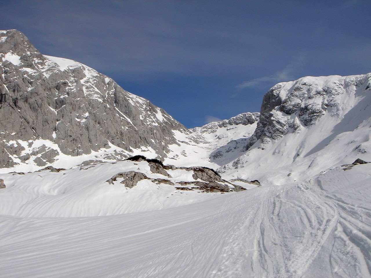 Foto: Manfred Karl / Ski Tour / Hoher Göll, 2522m /