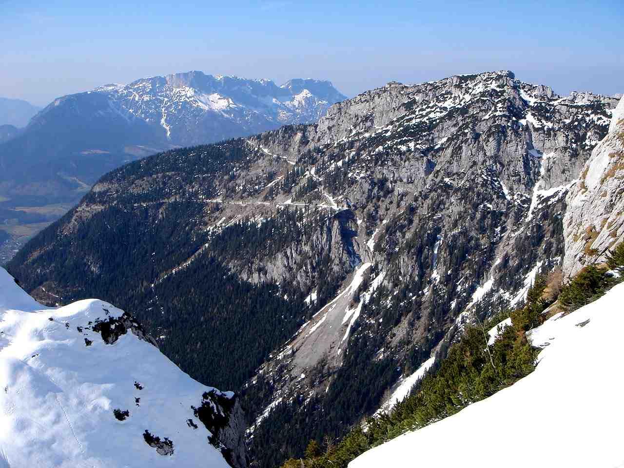 Foto: Manfred Karl / Ski Tour / Hoher Göll, 2522m / Untersberg - Kehlstein / 18.05.2007 06:37:05
