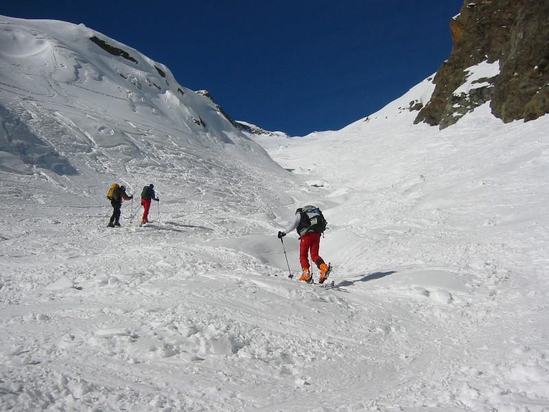 Foto: mucho / Skitour / Agglsspitze (3194m) / Aufstieg durch die Schlucht / 13.03.2007 19:56:59