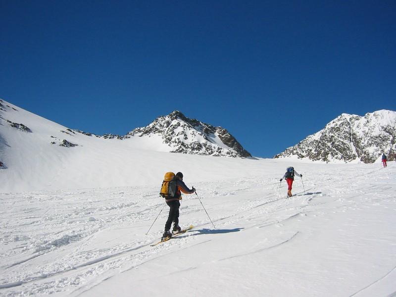 Foto: mucho / Skitour / Agglsspitze (3194m) / zur Magdeburger Scharte / 13.03.2007 19:58:38