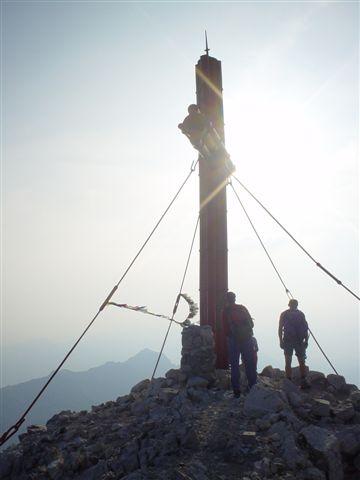 Foto: Alpinfreunde / Kletter Tour / Großer Priel - Südgrat (IV / III+Ao) / 19.04.2007 06:26:40