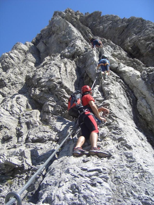 Foto: gre weg / Klettersteig Tour / Imster Klettersteig / 31.07.2007 00:05:50
