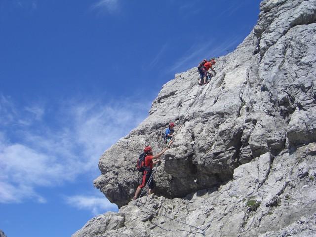 Foto: gre weg / Klettersteig Tour / Imster Klettersteig / 31.07.2007 00:06:48