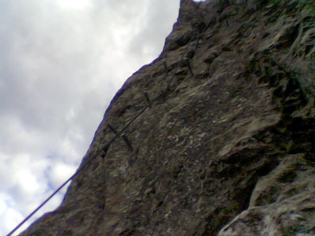 Foto: Werner / Klettersteigtour / Traunsee Klettersteig / 18.03.2007 11:08:05