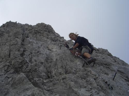 Foto: gre weg / Klettersteig Tour / Innsbrucker Klettersteig / 31.07.2007 21:01:47
