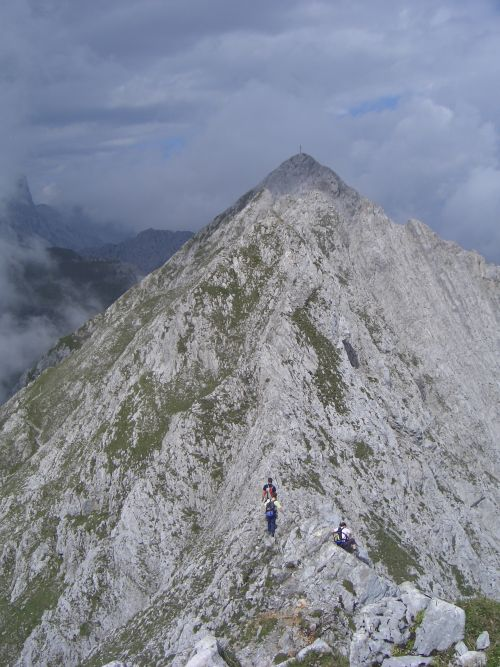 Foto: gre weg / Klettersteig Tour / Innsbrucker Klettersteig / 31.07.2007 21:02:09
