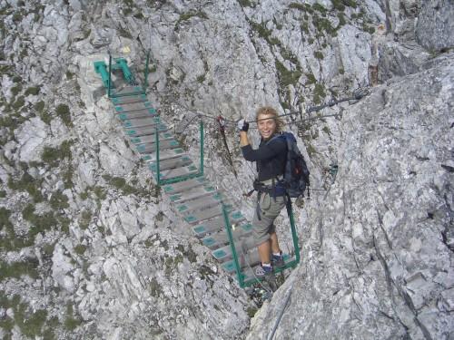 Foto: gre weg / Klettersteig Tour / Innsbrucker Klettersteig / 31.07.2007 21:02:28