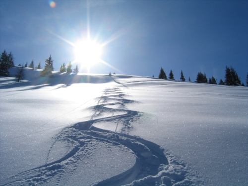Foto: Christian Suschegg / Skitour / Kreuzköpfl (2094m) / Traumhafte Pulverhänge / 03.01.2007 12:37:00