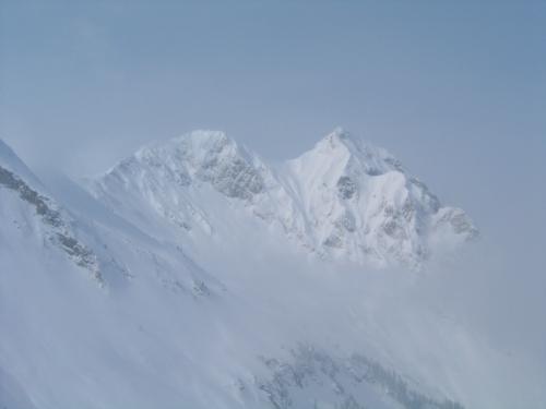 Foto: Christian Suschegg / Ski Tour / Tagkopf (2085m) / Ausblick zum nahen Bernkogel / 04.01.2007 13:58:19